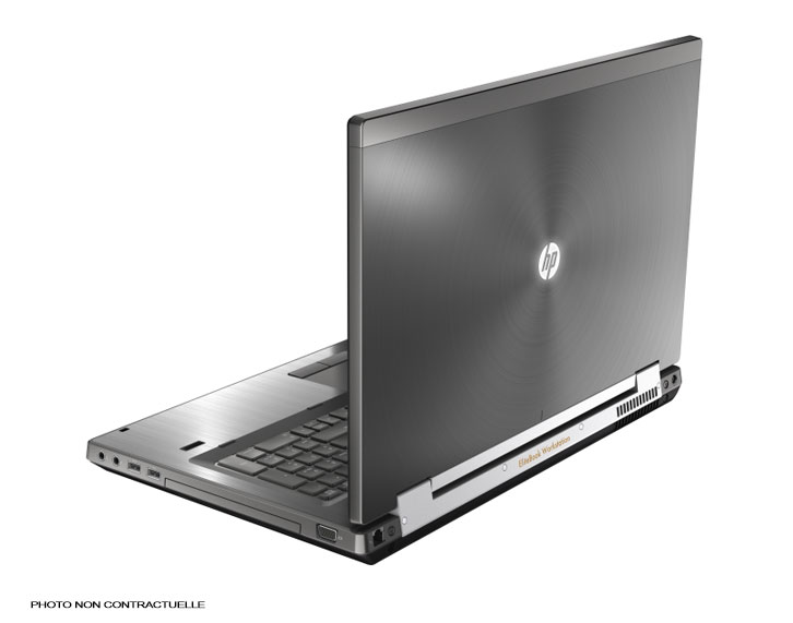 "HP EliteBook Workstation 8770W core i7 - 17,3"" Webcam"