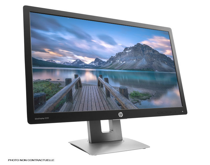 "ECRAN HP EliteDisplay E232 - 23"" Full HD / HDMI"