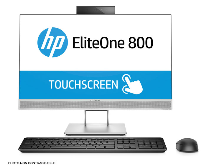 "HP All In One EliteOne 800 G4 - 23,8"" Webcam i7 Tactile Wifi"