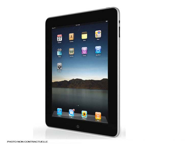 tablette tactile apple ipad 1 monpcpascher. Black Bedroom Furniture Sets. Home Design Ideas