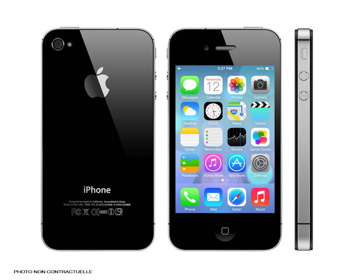 iPhone 4S - 16Go - Noir