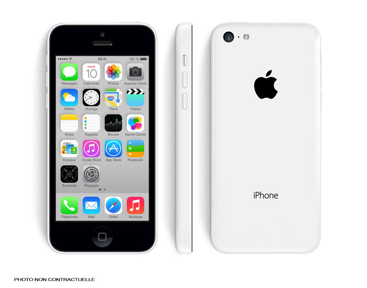 iPhone 5C - 8Go - Blanc