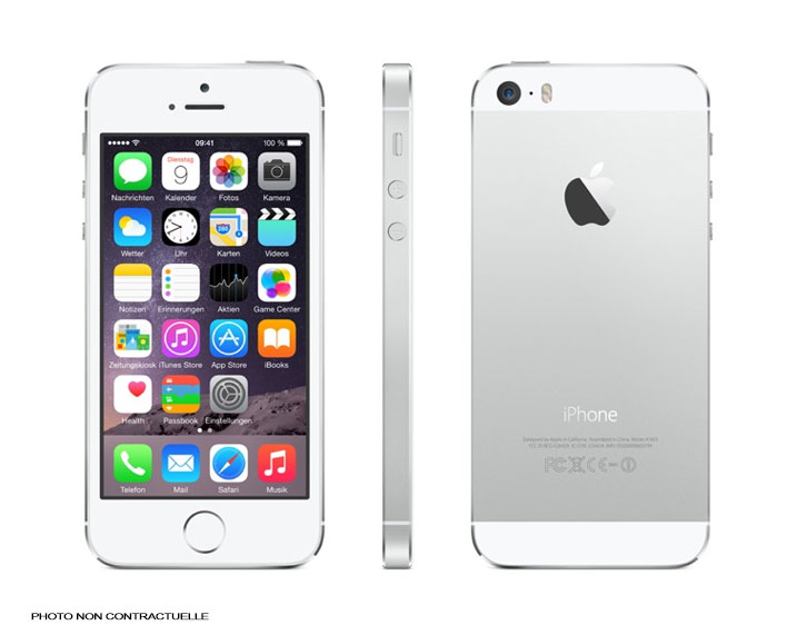 APPLE iPhone 5s - 32Go - Argent