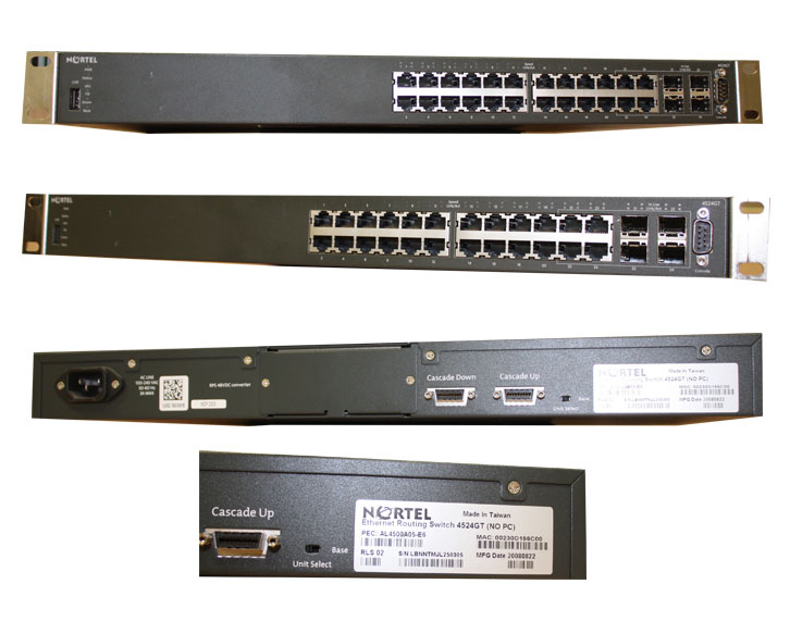 NORTEL Switch 4524GT